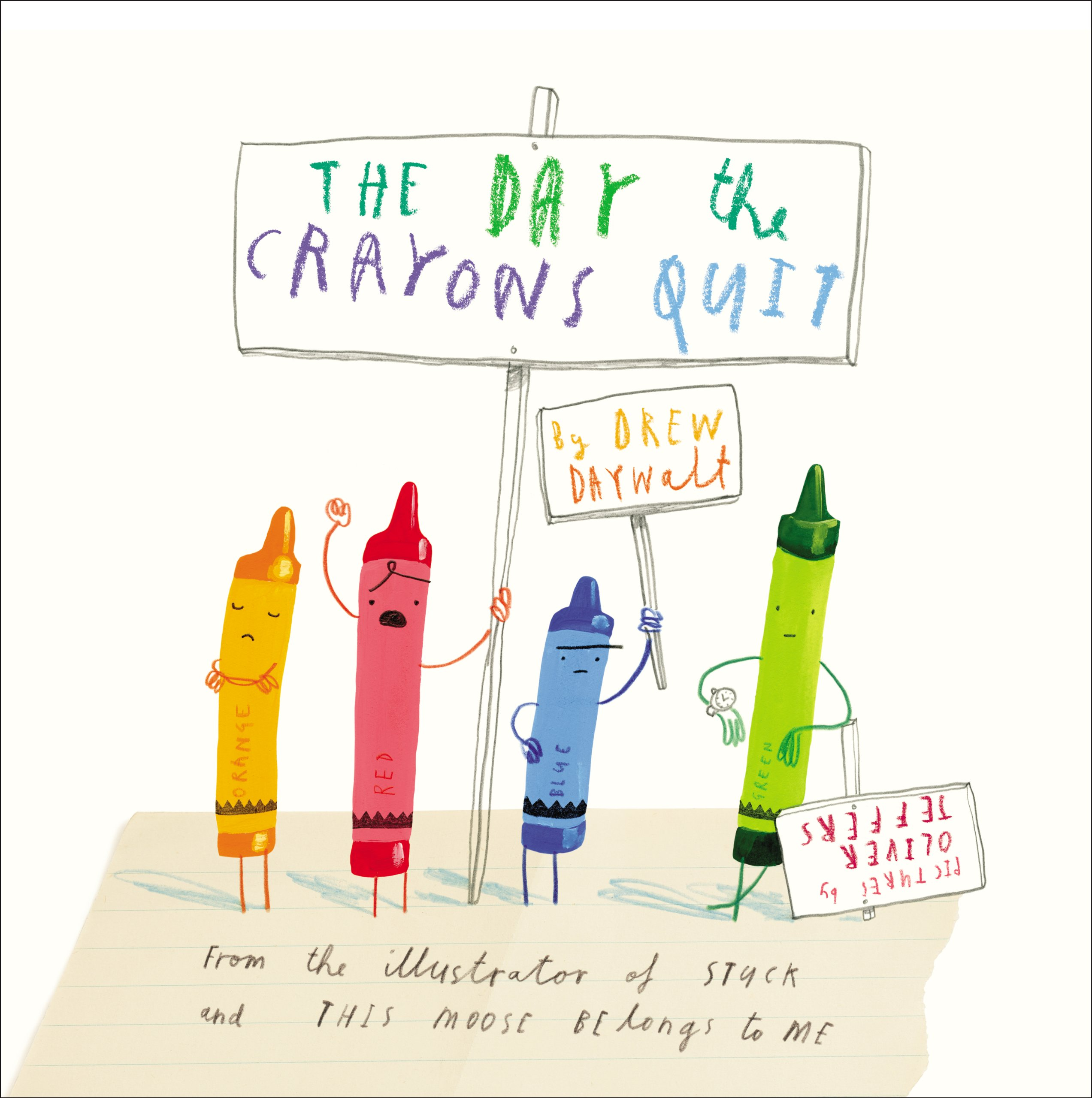 The Day the Crayons Quit-0